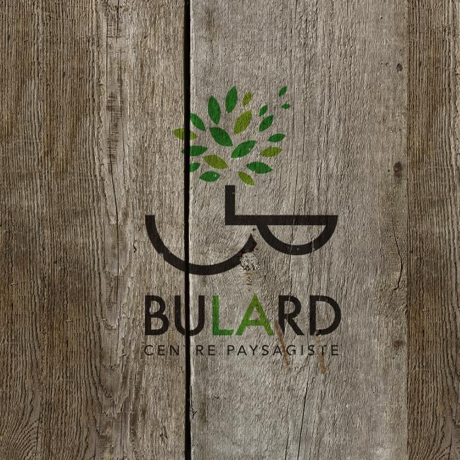 paysagiste bulard logo identité visuelle