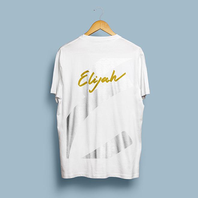 logo création, visuelle, identité, concept, communication, elijah, dj rap electro