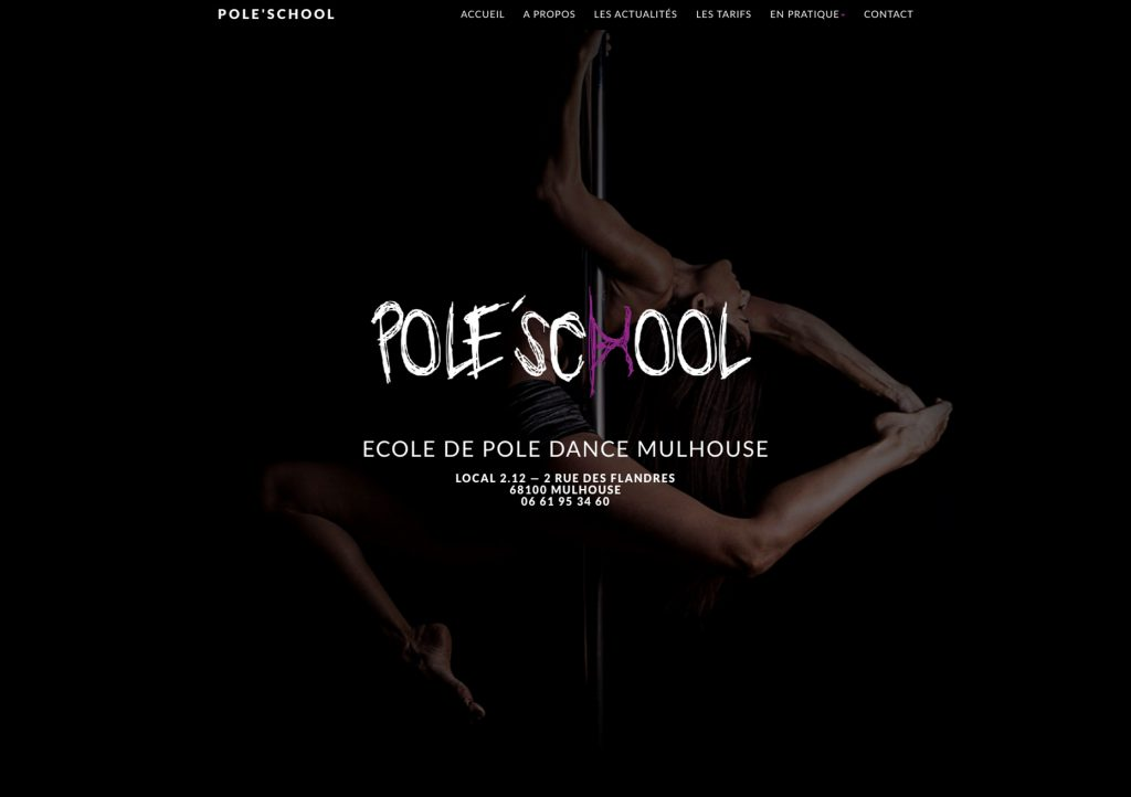 web creation site web design pole school mulhouse