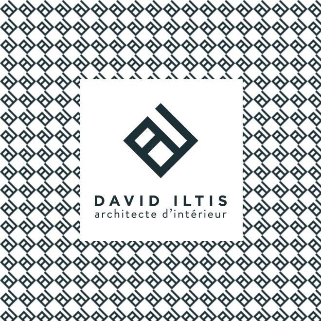 Logo david iltis architecte d'intérieur